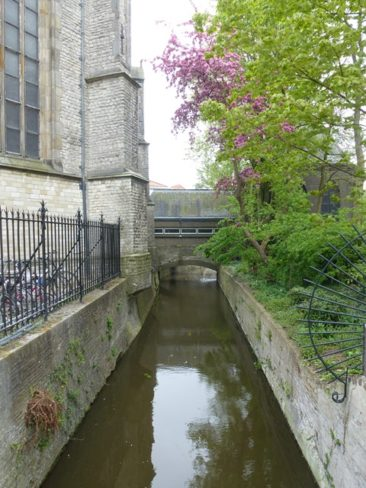 Gouda - beside St. John's church