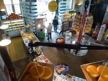 Gouda - inside Waag's cheese museum