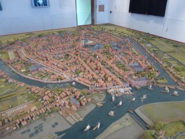 Gouda - museum model of town