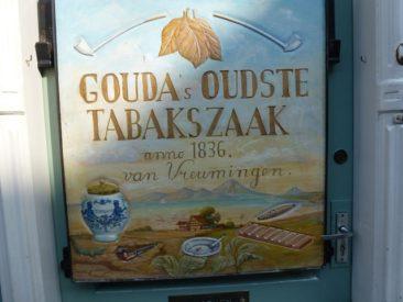 Gouda - tobacco shop sign