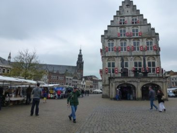 Gouda - back of Town Hall