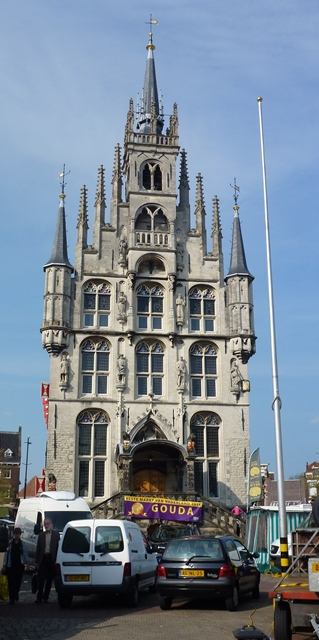 Gouda - front of Town Hall
