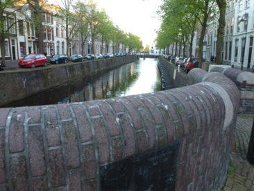 Gouda - above a canal