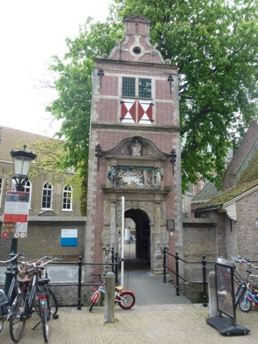 Gouda - Lazarus Gate, entrance to leper house at St. Catherine's Hospital.