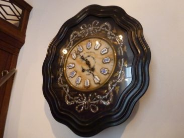 Gouda - old pharmacy clock