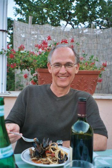 Hoyt Edge in Ravello, Italy 2003
