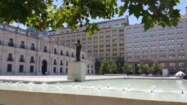 Santiago government building