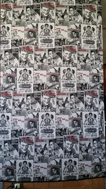 In Santiago? Yes. Restaurant wallpaper.