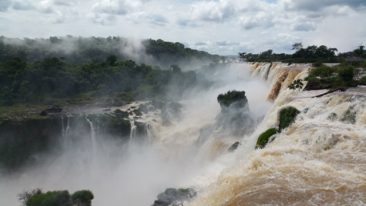 Iguazu Falls without us