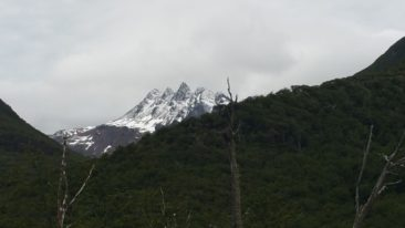 "The ""5 peaks"" near Ushuaia, the southernmost town on earth"