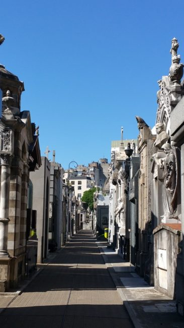 Cemetery main street
