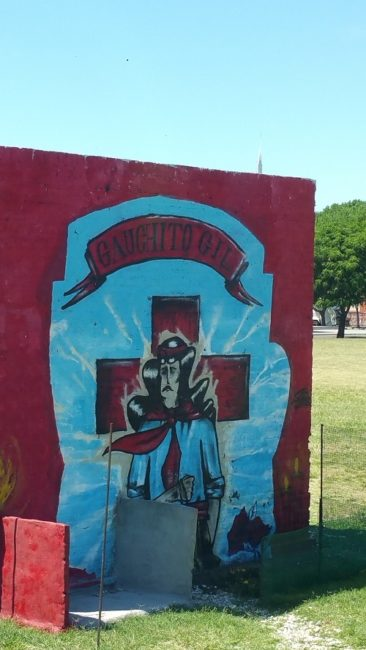 Gauchito Gil, a people's saint who protects and provides