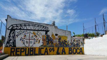 Republica de la Boca, a tourist trap