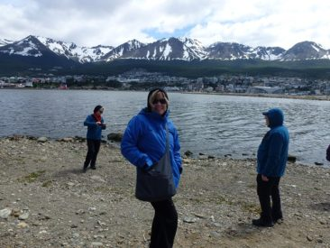 Nearing Ushuaia town